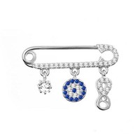 Baby Shower Gift with Evil Eye