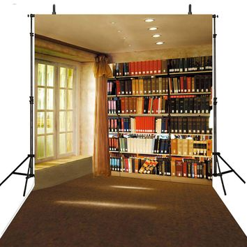 Books Photography Backdrops Vinyl Backdrop For Photography Library Background For Photo Studio Foto Achtergrond