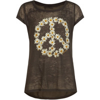 O'neill Monarch Sun Girls Tee Black  In Sizes