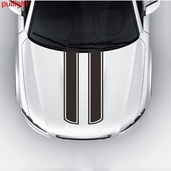 1Pair Car Truck Decal Vinyl stickers Hood Decals Racing stripe