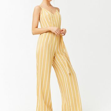 Striped Cami Jumpsuit