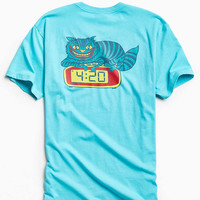 Killer Acid Cat Clock Tee - Urban Outfitters