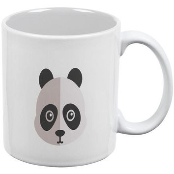 CREYCY8 Cute Panda White All Over Coffee Mug