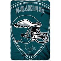 "NFL Philadelphia Eagles 40"" x 60"" Fleece Throw - Walmart.com"
