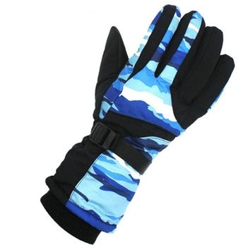 Thermal Fleece Ski Gloves