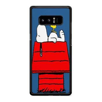 Snoopy And Woodstock Samsung Galaxy Note 8 Case