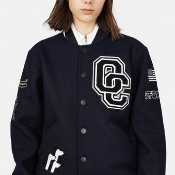 Opening Ceremony Kennel Club Varsity Jacket - WOMEN - Opening Ceremony - OPENING CEREMONY