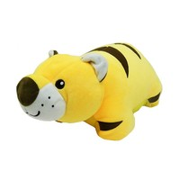 Necknapperz Stripey Tiger Neck Pillow (Yellow)