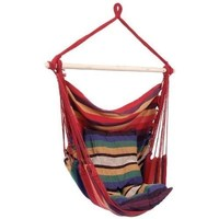 LANDUSA Hanging Rope Hammock Chair