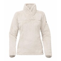 Women's Campshire Sherpa Fleece Pullover in Vintage White by The North Face