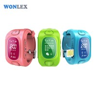 Wonlex Smart Safe Kids GPS Watch Wristwatch SOS Call Location Finder Tracker for Child Anti Lost Monitor Baby Son Gift