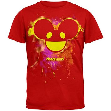 deadmau5 - Pink Yellow Head Soft T-Shirt