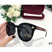 GUCCI 2019 new style brand female personality small bee beach polarized sunglasses #1