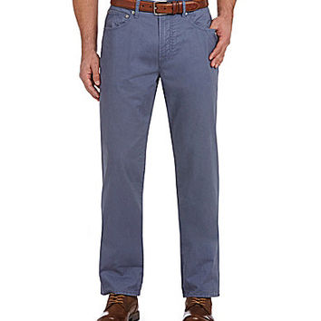Cremieux Austin Soft-Twill 5-Pocket Pants