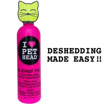 De Shed Me Miracle Deshedding Rinse for Cats   Pet Head
