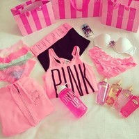 Chelsea Ervin, Pink on @weheartit.com - http://whrt.it/11grQX2
