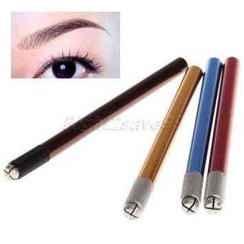 LMFYV3 2017 New Arrival Professional Manual Tattoo Permanent Makeup Eyebrow Pen Manual Tattoo Pen Microblading Pen Eyebrow Tattoo Tools