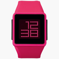 Nixon Newton Digital Watch Pink One Size For Women 25961735001