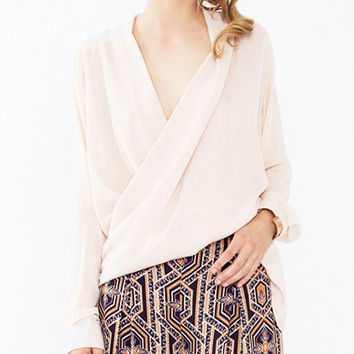 Bridget Draped Blouse