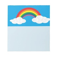 Blue Sky Notepad