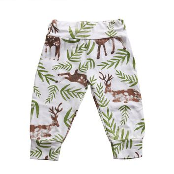 Newborn Leggings Atutmn Cartoon Baby Leggings Children Trousers Harem Pants Baby Boy Trousers Baby Clothes