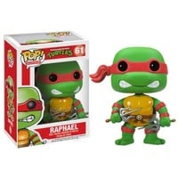 Teenage Mutant Ninja Turtles Raphael Pop! Vinyl Figure : Forbidden Planet