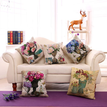 Floral Pillow Covers 2