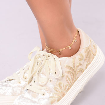 Marnia Anklet - Gold
