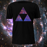 Legend of Zelda - Triforce Galaxy Tshirt