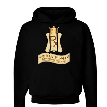 Golden Fleece - Supernatural Panacea Dark Hoodie Sweatshirt by TooLoud