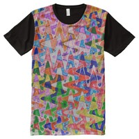Valleys and Peaks All-Over Print T-Shirt