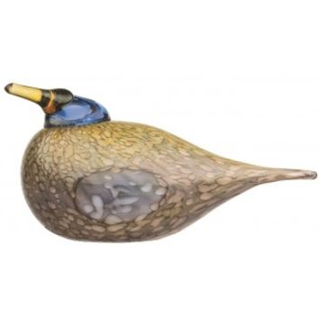 Toikka Dotterel Glass Bird Pop Gift Boutique