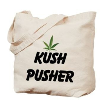 KUSH PUSHER Tote Bag> KUSH PUSHER> 420 Gear Stop