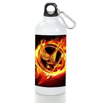 Gift Sport Bottles | The Hunger Games Logo Aluminum Sport Bottles