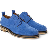 Ami Suede Wingtip Brogues | MR PORTER