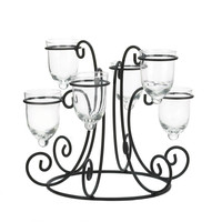 Tealight Candleholder Centerpiece