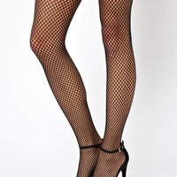 Pretty Polly Henry Holland Fishnet True Suspender Tights