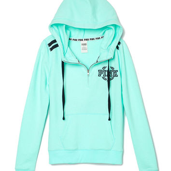 Perfect Half-Zip Hoodie - PINK - from Victoria's Secret