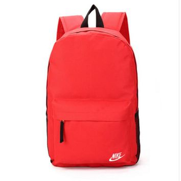 Nike Sport Hiking Backpack College School Travel Bag Day pack Red