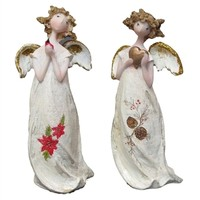 SheilaShrubs.com: Christmas Angel Ornament (Set of 2) 0182-29423AB by IWGAC: Christmas Tree Ornaments