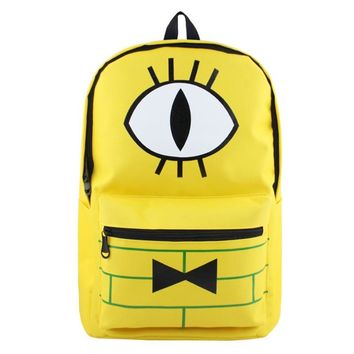 Gravity Falls/YURI on ICE /Zelda /Doctor Who/ Fairy Tail/ Undertale/Adventure Time School Bags Cartoon Backpacks Mochila Escolar