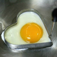 Home Cook Fried Egg Pancake Stainless Steel Heart Shaper Mould Mold Kitchen Tool = 5617164993