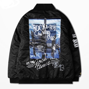 ANDIMOTO Shade Streetwear Bomber Jacket Limited Edition