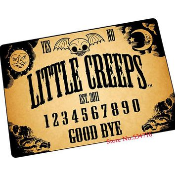 ouija board mouse pad Indie Pop gaming mouse pad laptop large mousepad gear notbook computer pad to mouse gamer play mats