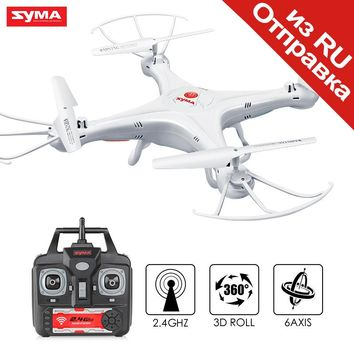 SYMA RC Drone X5A 2.4G 6 Axis Gyro Aircraft Helicopter Quadcopter Remote Control Drones NO Camera Dron Toys For Children