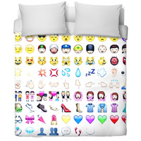 Emoji Bed Spread