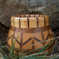 Bowl of Luck - Repurposed Expressions in Wood - Polychromatic Segmented Bowl
