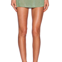 MLV Bonnie Sequin Skirt in Green