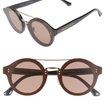Jimmy Choo Monties 64mm Round Sunglasses | Nordstrom