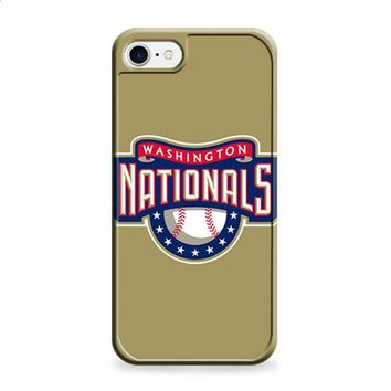 WASHINGTON NATIONAL BASEBALL LOGO GRAY iPhone 6 | iPhone 6S case